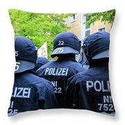 May Day Berlin 2017 Throw Pillow