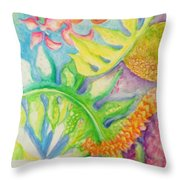 May Day Is Lei Day Throw Pillow
