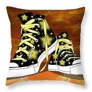 May I Converse With You Throw Pillow