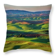 May On The Palouse  Throw Pillow