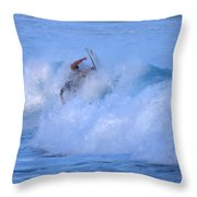 May Tagged Throw Pillow