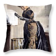 May Waldron Throw Pillow