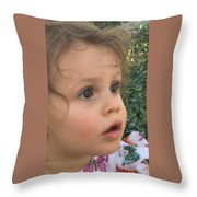Maya Pearl Throw Pillow