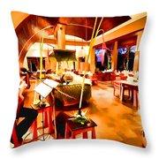 Maya Sari Asiatique Throw Pillow by Lanjee Chee