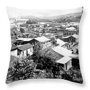 Mayaguez - Puerto Rico - C 1900 Throw Pillow