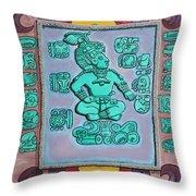 Mayan Prince Throw Pillow