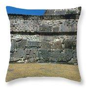 Mayan Pyramid, C450 A.d Throw Pillow