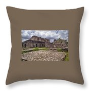 Mayan Ruins 1 Throw Pillow