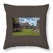 Mayan Ruins 3 Throw Pillow