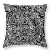 Mayan Rule Throw Pillow