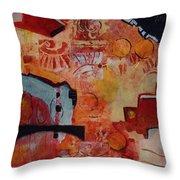 Mayan Shaman Throw Pillow