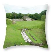 Mayan World Throw Pillow