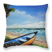 Mayaro Beach Throw Pillow