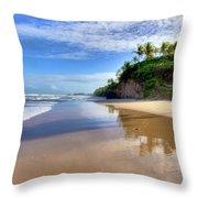 Mayaro Beach Trinidad Throw Pillow