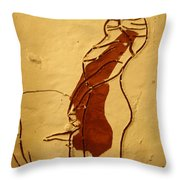 Maybe Baby Two M - Tile Throw Pillow