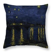 Maybe We Can Take Death To Go To A Star? Throw Pillow