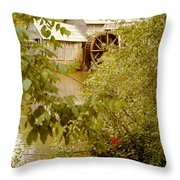 Mabry Mill 3 Throw Pillow