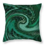 Mayhems Of The Seas H B Throw Pillow