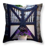 Maymont Gate Throw Pillow