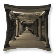Maymont's Italian Garden Throw Pillow