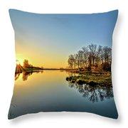 Maynes Grove Spring Rise Throw Pillow