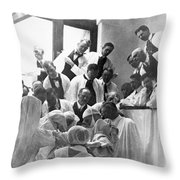 Mayo Clinic, 1913 Throw Pillow