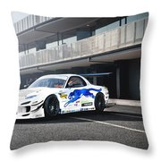 Mazda Rx-7 Throw Pillow