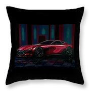 Mazda Rx Vision 2015 Painting Throw Pillow