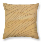 Maze Of Life Drawing Throw Pillow