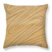 Maze Of Life Drawing Throw Pillow