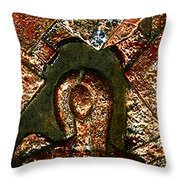 Maze Of Memories Throw Pillow