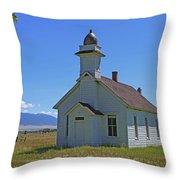 Mcallister Church Throw Pillow