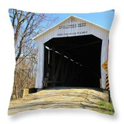 Mcallister's Bridge Throw Pillow