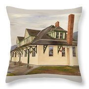 Mcbride Station Throw Pillow