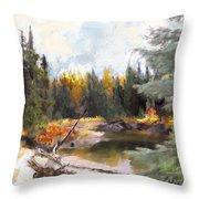 Mccall Landscape Throw Pillow
