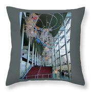 Mccaw Hall Seattle Throw Pillow