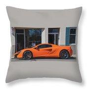 Mcclaren Throw Pillow