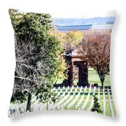 Mcclellans Gate Throw Pillow
