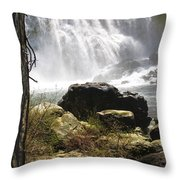 Mccloud Middle Falls Throw Pillow