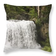 Mccloud Upper Falls Throw Pillow