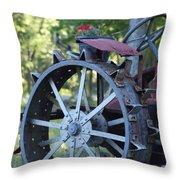 Mccormic Deering Farm Tractor   # Throw Pillow