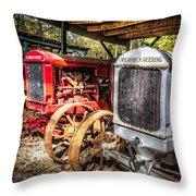 Mccormick Deering Tractors II Throw Pillow