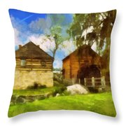 Mccormick Mill Throw Pillow
