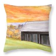 Mccready Farm Throw Pillow