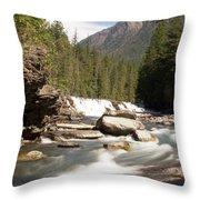 Mcdonald Creek 2 Throw Pillow
