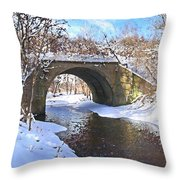 Mcgowan Bridge Throw Pillow