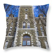 Mcgraw Hall - Cornell University Throw Pillow