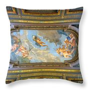 Mcgraw Rotunda Mural Throw Pillow