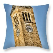 Mcgraw Tower Throw Pillow