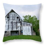 Mcgregor Iowa Barn Throw Pillow